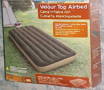 Ozark Trail Air Mattress Twin Size Camping Sleep Over 3511 on