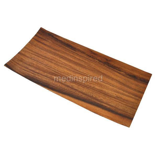 Acacia Wood Plates : Luxury acacia wood rectangular plate cheese dinner