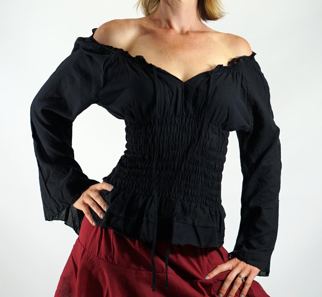 Womens Pirate Blouse
