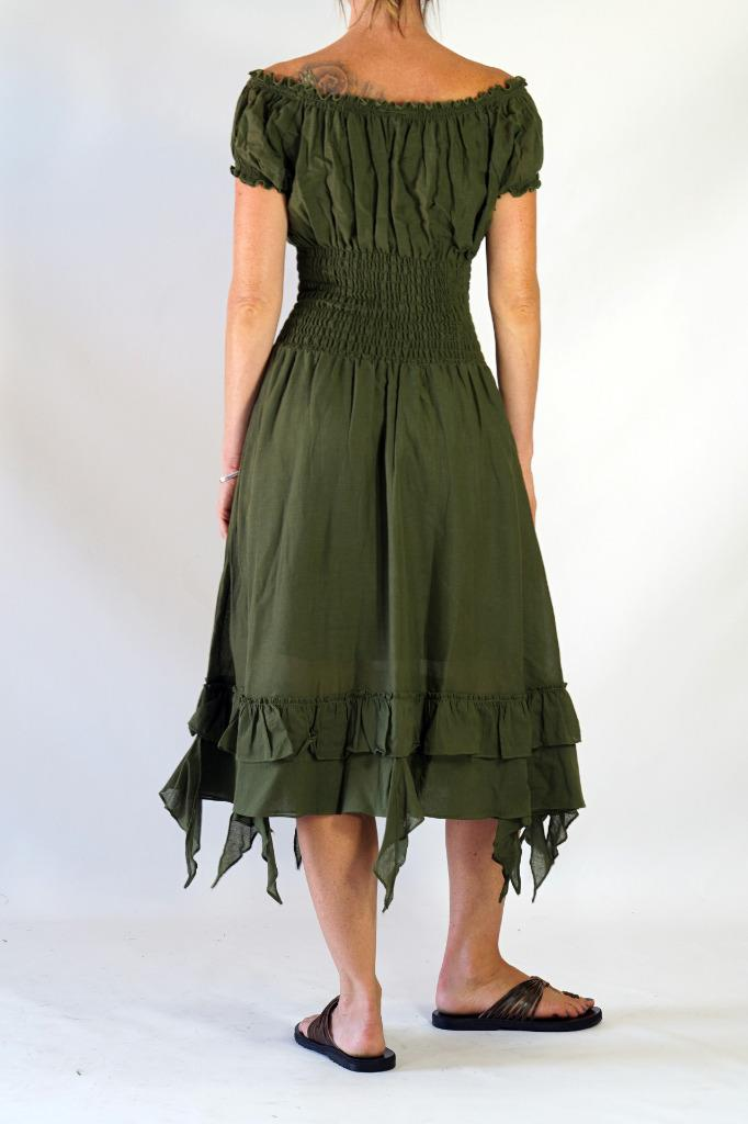 how to cut gypsy dress