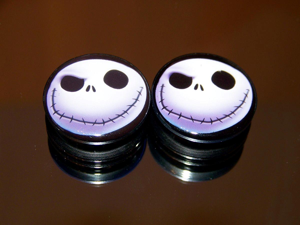 Nightmare-Before-Christmas-Jack-Skellington-Ear-Plug-Gauges-Tunnel ...