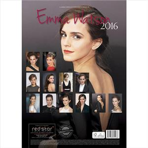 SALE !! SALE !! EMMA WATSON LARGE WALL CALENDAR 2016 NEW AND FACTORY ...
