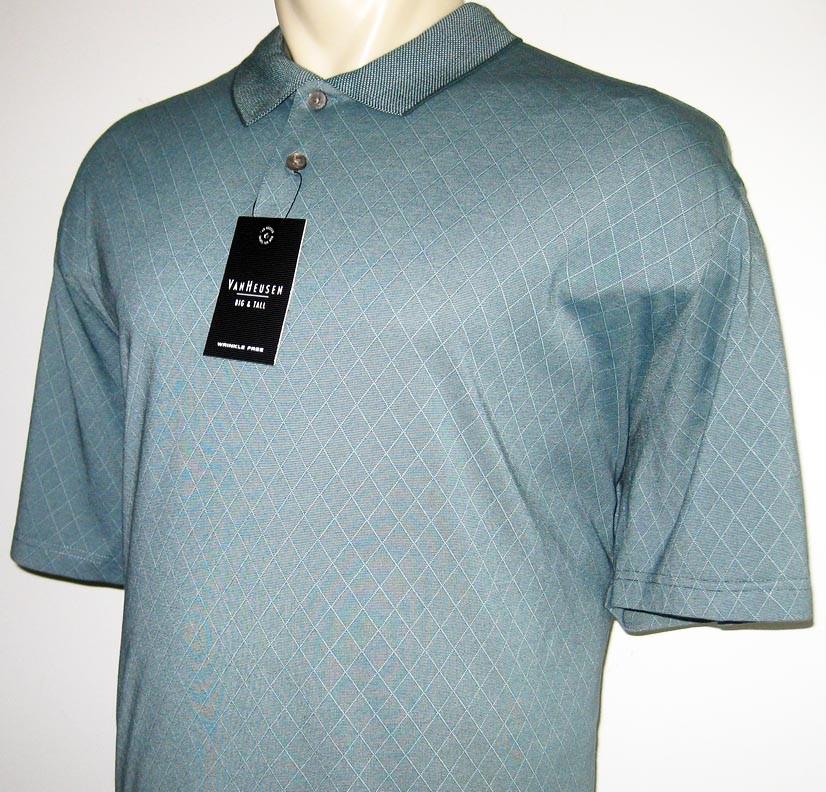 van heusen mens polo shirt teal 3x 3xl 3xb 4x 4xl 4xb ebay
