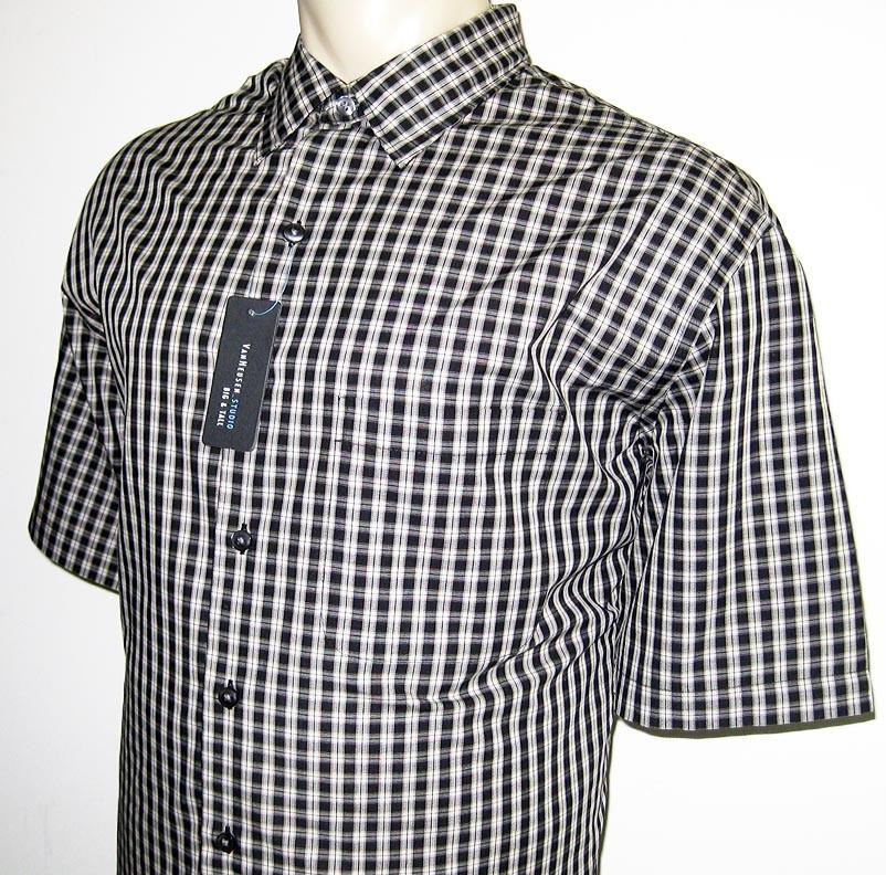 new van heusen mens shirt black 2xlt 3x 3xl 3xlt 4x 4xl ebay
