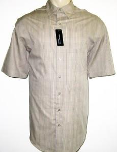 New van heusen mens shirt beige 2xlt 3x 3xl 3xlt 4x 4xl ebay for Van heusen studio shirts big and tall