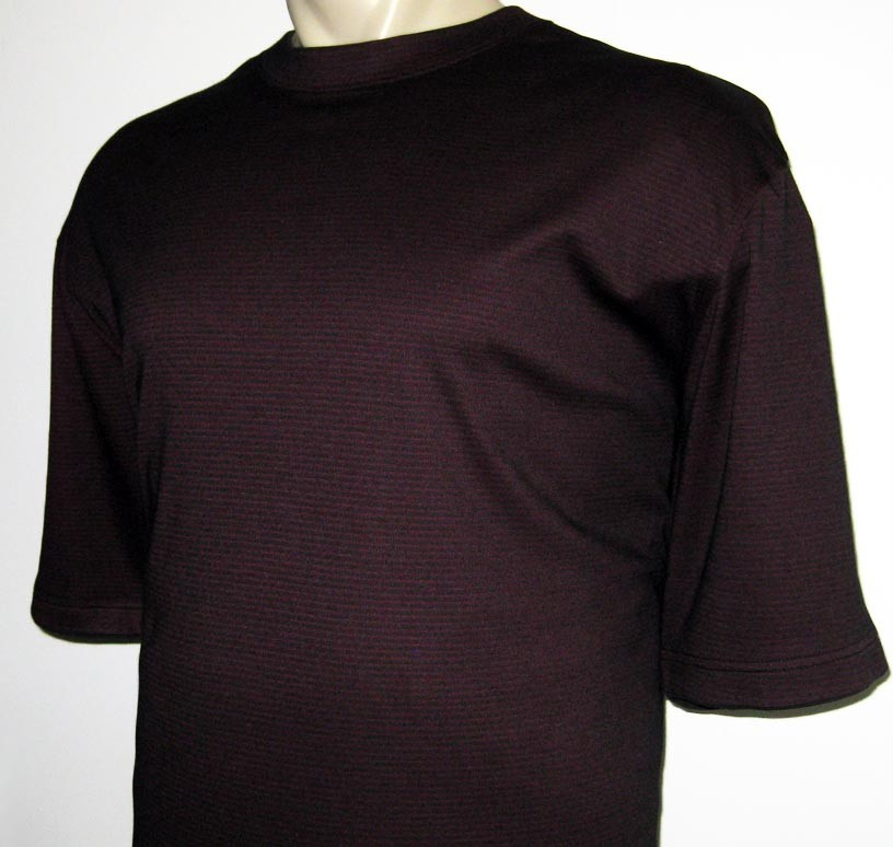 new van heusen mens t shirt tee burgundy short sleeve 2xlt