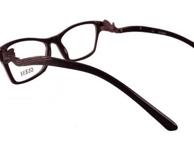Black Frame Designer Glasses : GUESS eyewear GU 2246 BLACK BLK 53 Designer eye glasses ...