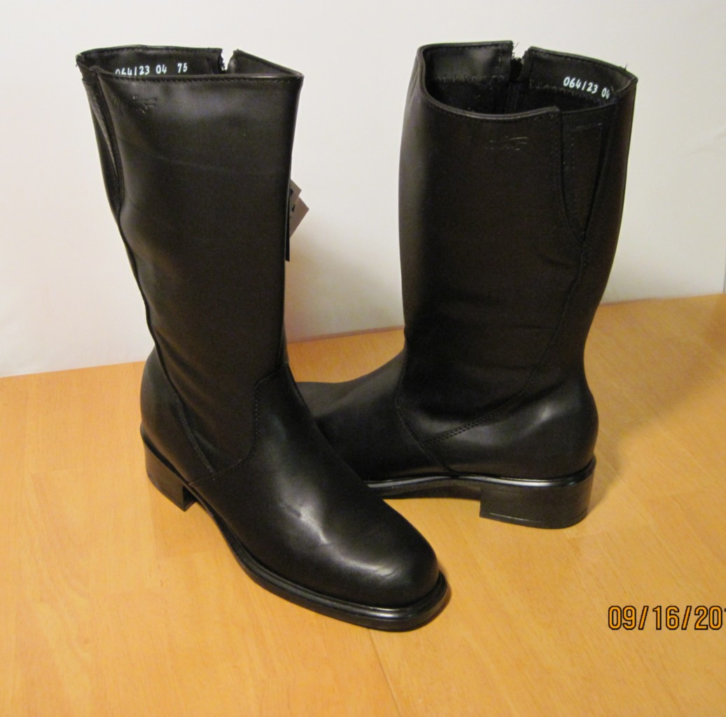 womens martino quot colleen quot black waterproof leather boots ebay
