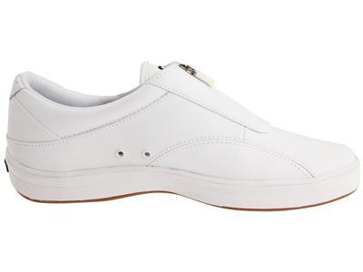 keds s zippered white smooth leather nursing