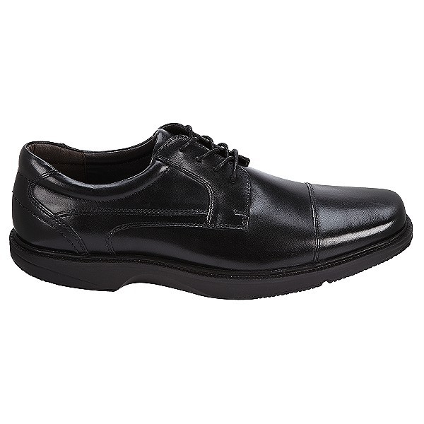 dockers stiles s black leather oxford dress shoe