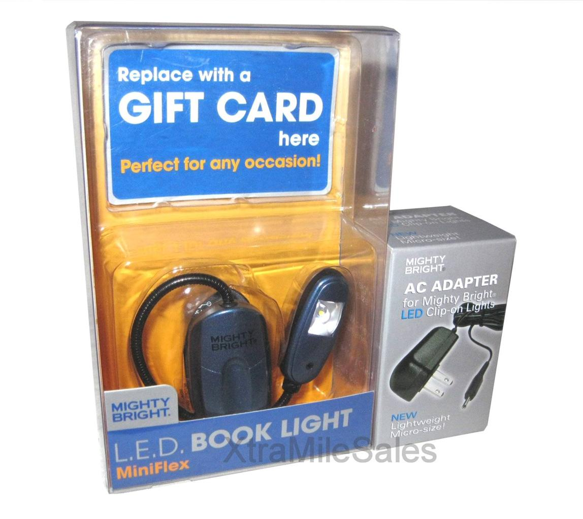 details about mighty bright blue miniflex led book light nook kindle. Black Bedroom Furniture Sets. Home Design Ideas
