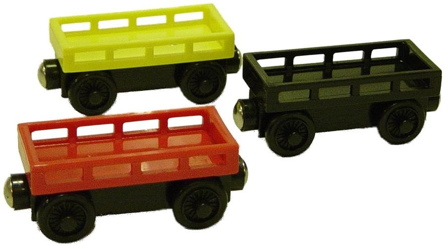 Wooden Rail Cars ~ Cargo car set thomas the wooden rail crane load train