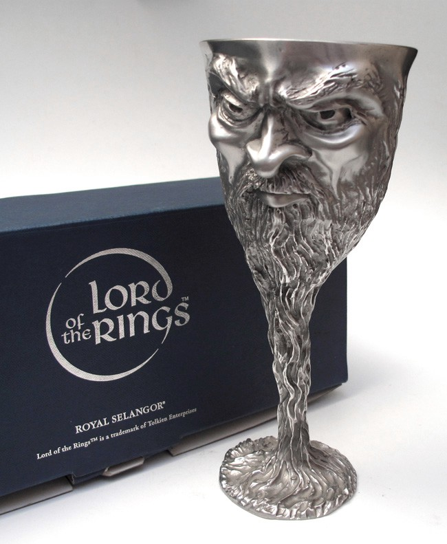 Lord Of The Rings Pewter Goblets Ebay