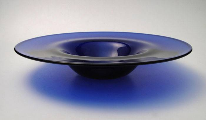 SIGNED-STEPHEN-MORRIS-VIBRANT-COBALT-BLUE-AUSTRALIAN-STUDIO-ART-GLASS-BOWL