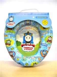 thomas tank engine baby kid toilet seat potty training. Black Bedroom Furniture Sets. Home Design Ideas