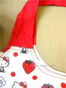 Hello Kitty ECO Shopping Bag HandBag + Pouch Purse  W