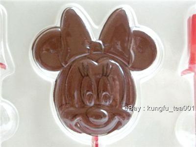 Disney Mickey Minnie Chocolate Jelly Candy Stick Mold