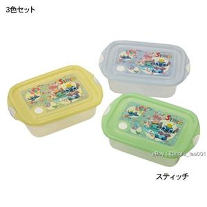 Disney Stitch Lunch Box Food Containers 500ml x 3pcs | eBay