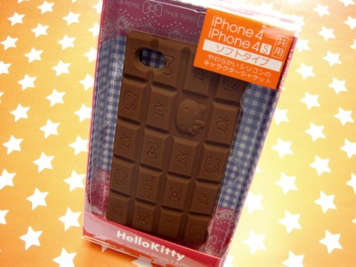 Sanrio Hello Kitty in Chocolate Bar iPhone 4 / 4S - Ad#: 2444439 - Addoway