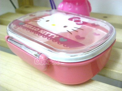 sanrio hello kitty lunch box bento food container ad 3194607 addoway. Black Bedroom Furniture Sets. Home Design Ideas