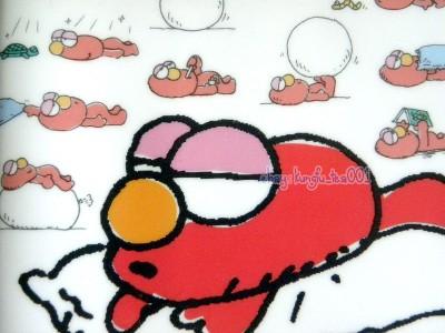 2014 Sesame Street Sleey Elmo Schedule Organizer Monthly Planner Journal A6