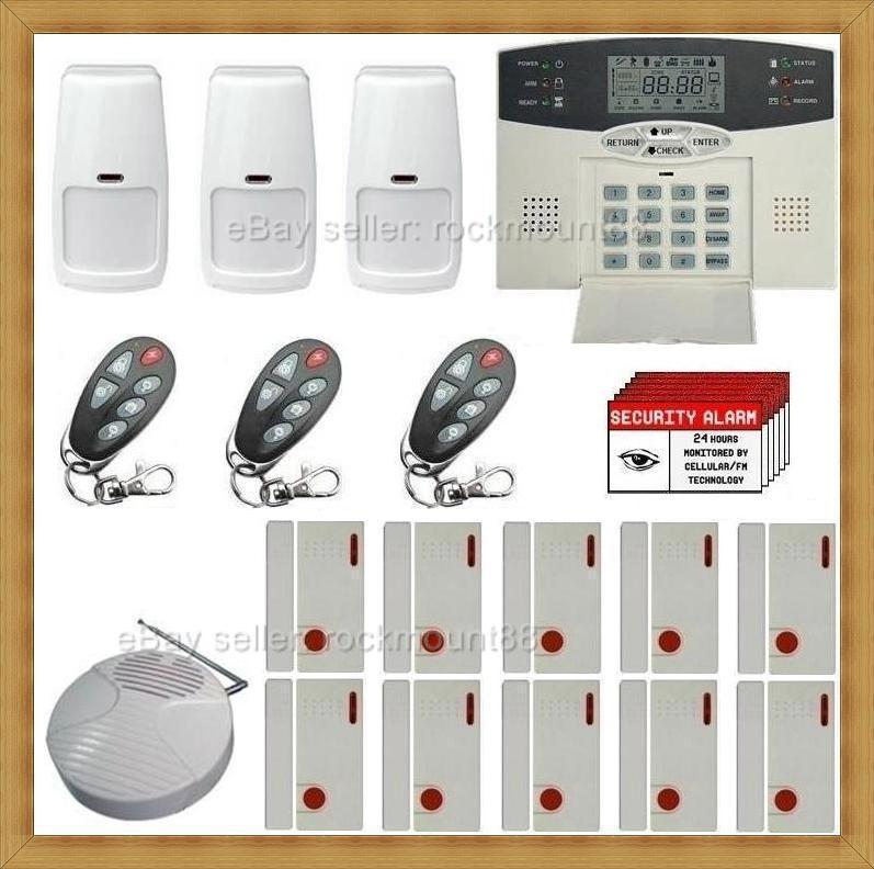 TOP RATED* Wireless Home Security System Burglar Alarm  eBay
