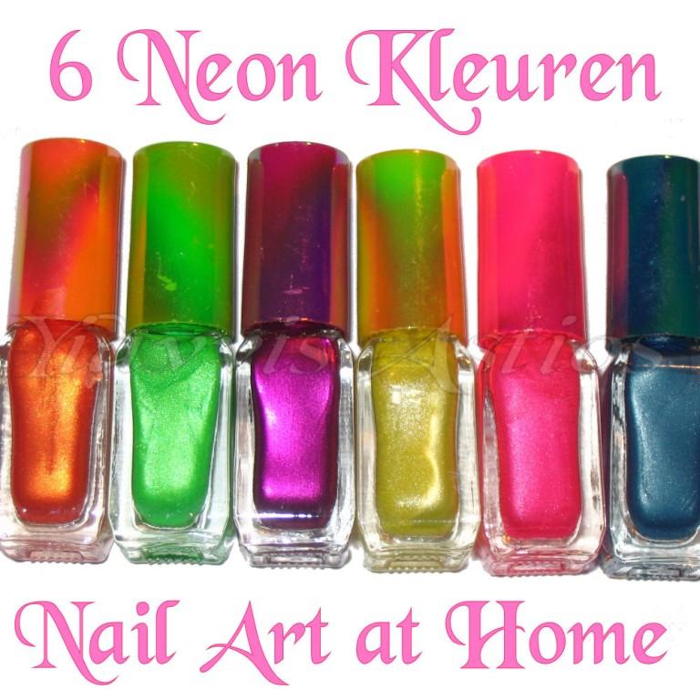 Neon Nail Polish Colors