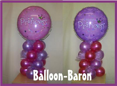 BIRTHDAY PRINCESS FOIL BALLOON DECORATION KIT PINK | eBay