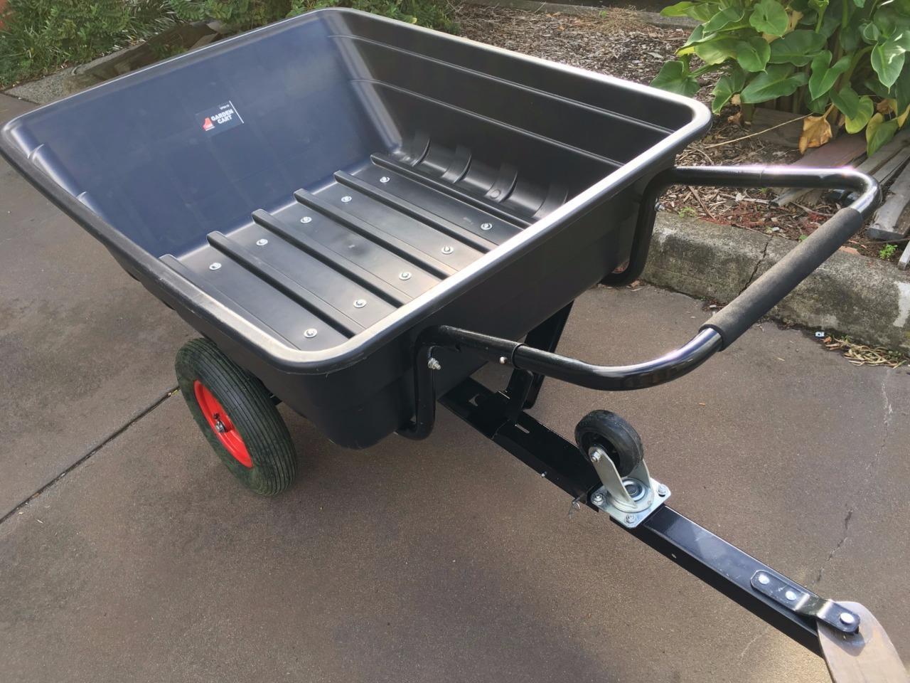 Ride on lawn mower Quad poly Tipper Trailer Dump Cart ...