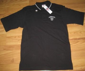 Nfl Oakland Raiders Coaches Polo Shirt M Medium Med