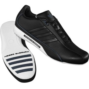 Adidas porsche design S2 black driving shoes walking casual.