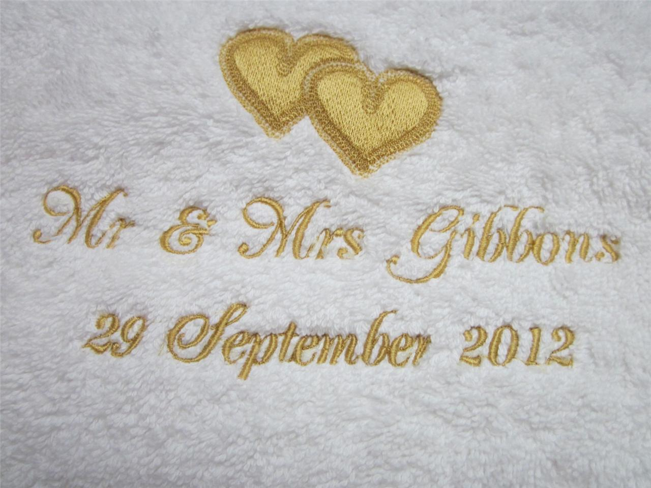 Personalised-Anniversary-Towels-Embroidered-with-Hearts-Text-of-your-choice