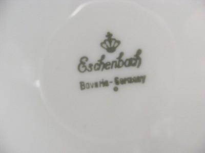 4 eschenbach bavaria fine china 7 5 8 salad plates gold on ivory pattern 10289 ebay. Black Bedroom Furniture Sets. Home Design Ideas