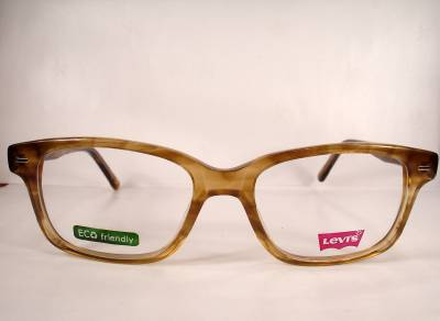 Levis 599E Brown Men Eyeglasses Plastic Eyewear new ...