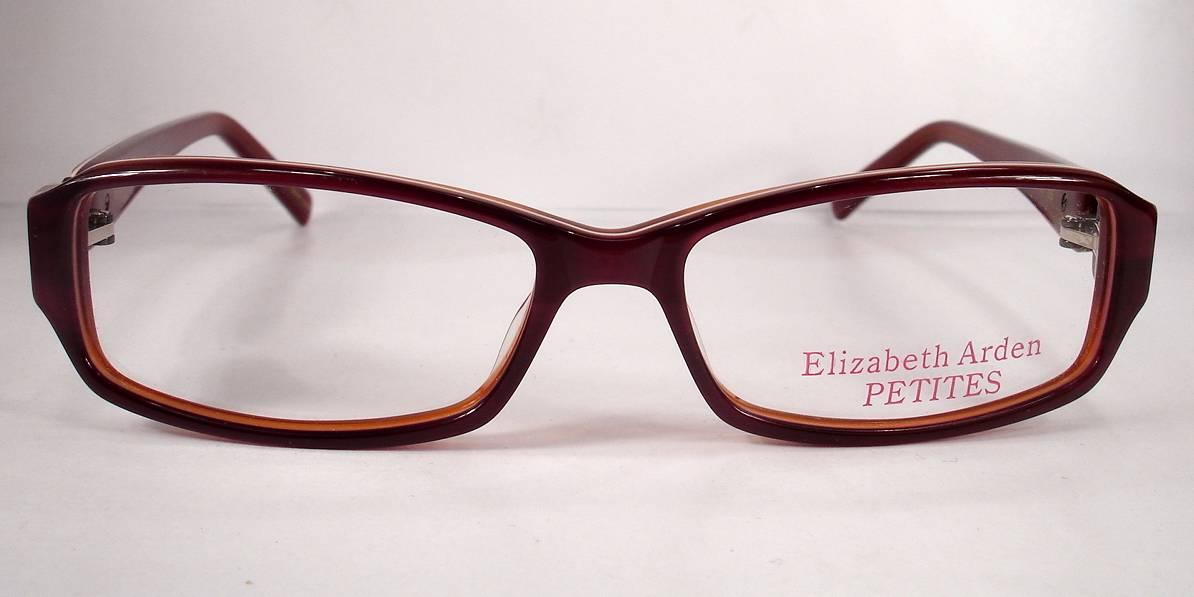 Petite Eyeglass Frames Ladies : Elizabeth Arden Petite 69 Burgundy Women Eyeglasses Frames ...
