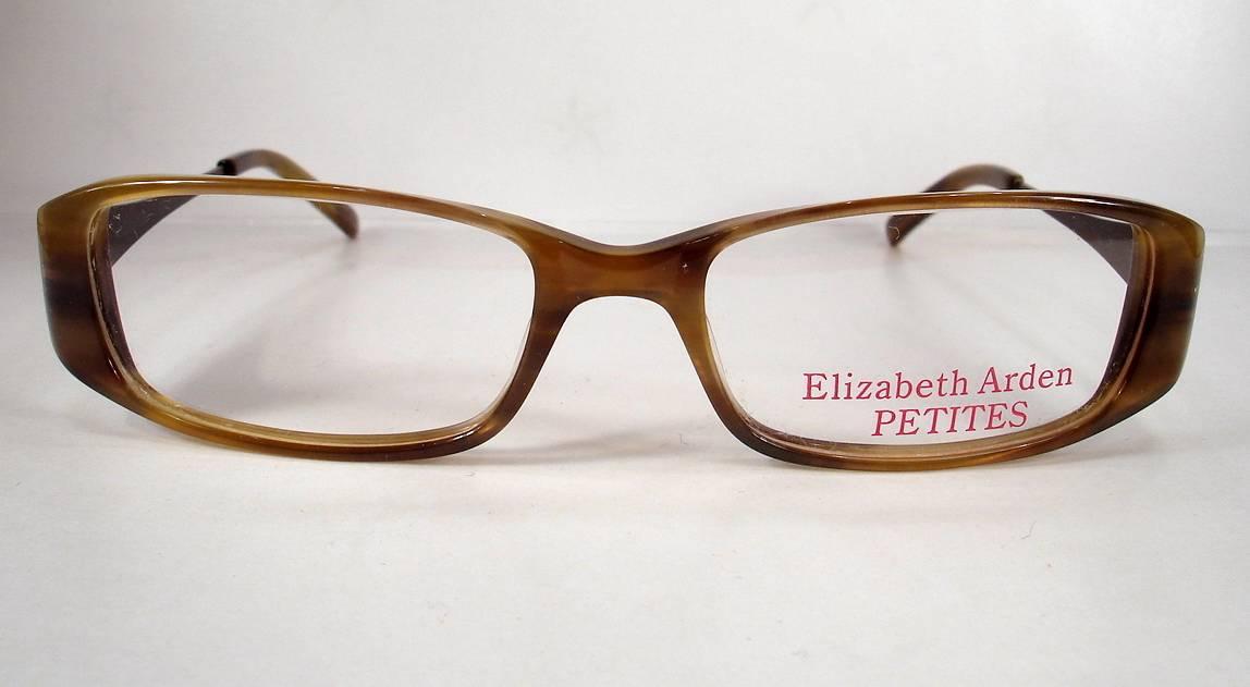 Petite Eyeglass Frames Ladies : Elizabeth Arden Petite 71 Khaki Women Eyeglasses Frames ...