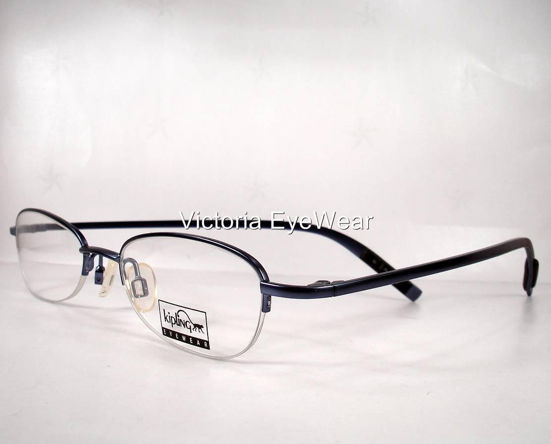Blue Designer Eyeglass Frames : Kipling 231 Blue Women Eyeglasses Eyewear Frames Designer ...