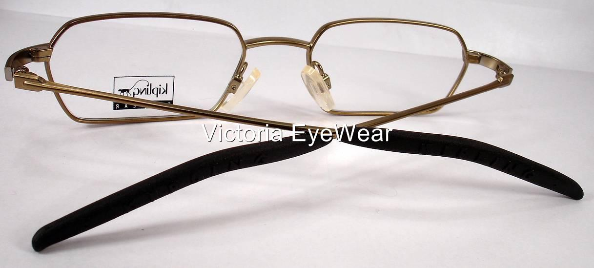 Kipling 237 Dark Gold Men Women Eyeglasses Eyewear Frames ...