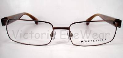 republica charleston brown eyeglasses frames eyewear