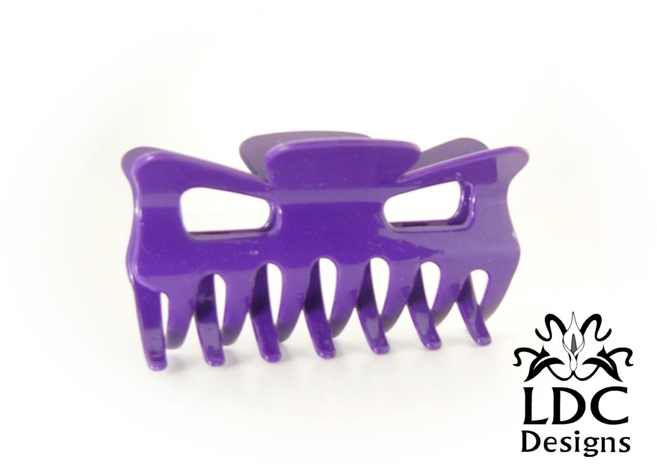 Assorted-Colors-Medium-3-Inch-Acrylic-Butterfly-Salon-Hair-Claw-Jaw-Clip-Clamp