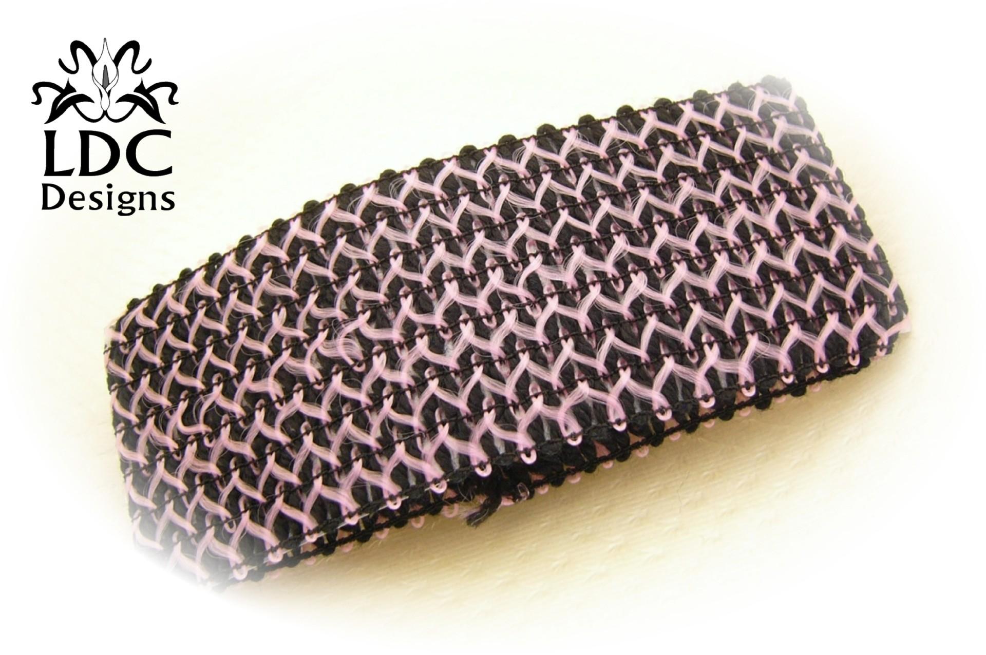 Knitting Pattern For Yoga Wrap : Stretch Crochet Knit Yoga Wide Headband Black Sport Hair ...