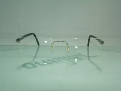 Rimless Glasses No Screws : LINDBERG SPIRIT TITANIUM 2089 T53 RIMLESS GLASSES Frame eBay