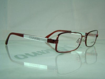 Chanel Optical Eyeglasses Usa : CHANEL 2153 415 RED &SILVER +Orig Case EYEWEAR GLASSES ...
