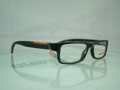 PRADA VPS 03C 1AB 101 BLACK Spectacles Frames EyeGlasses ...