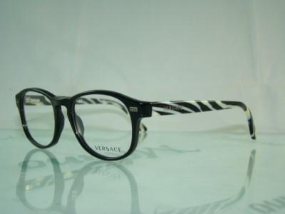 versace eyeglasses  versace 3133 gb1 black