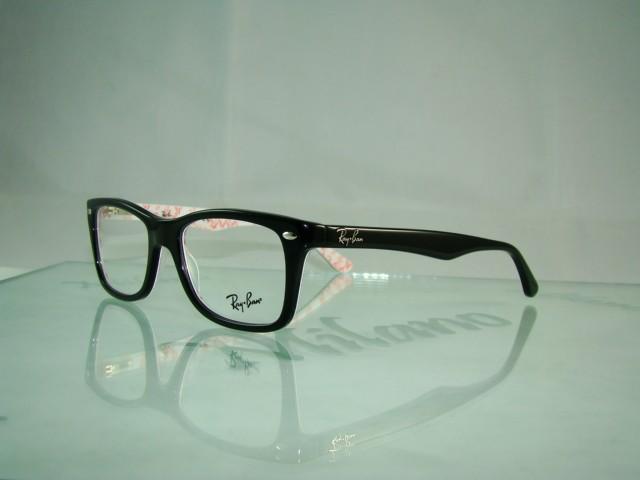 Eyeglass Frame Size 50 : NEW Ray Ban Rayban RB 5228 5014 BLACK Glasses Eyeglasses ...