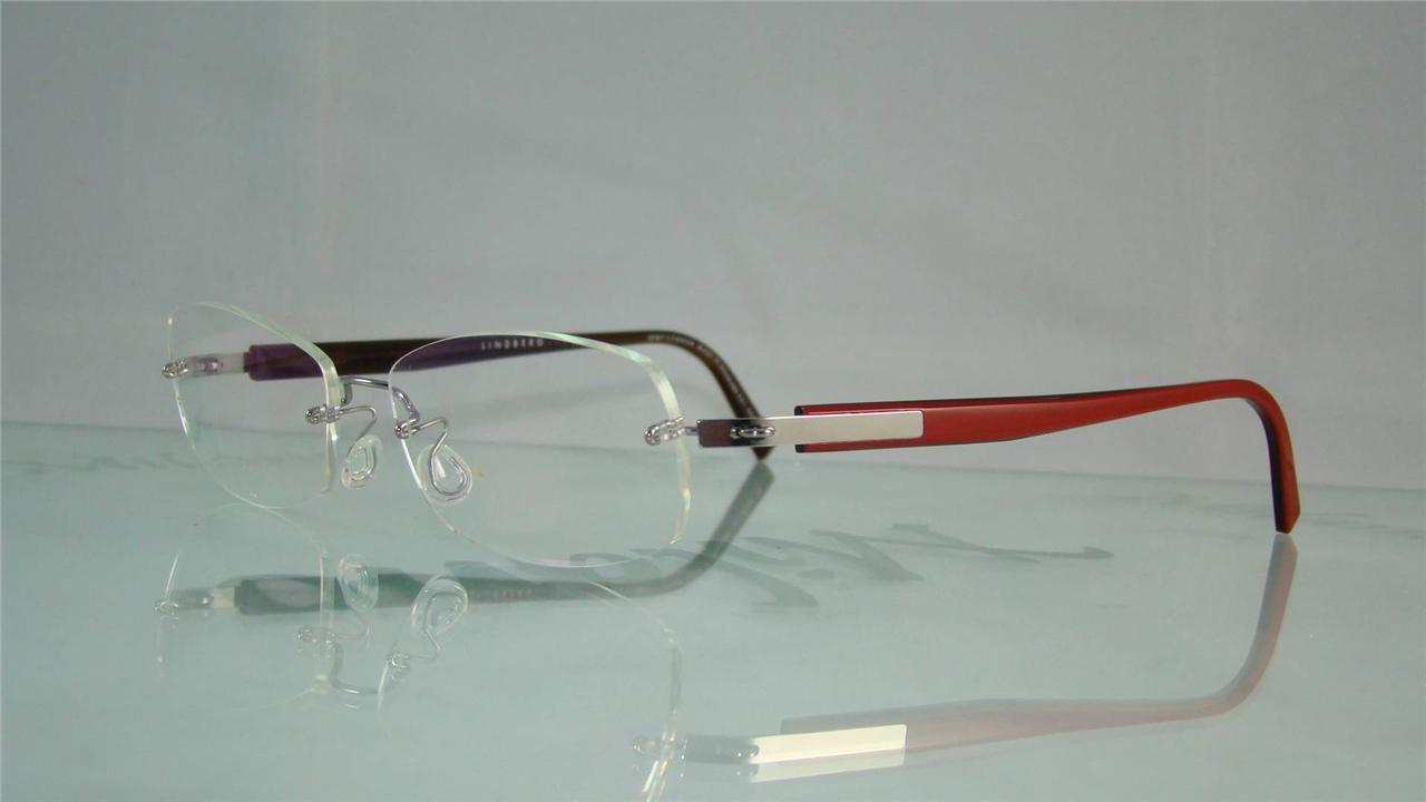 Lindberg Rimless Glasses : LINDBERG SPIRIT TITANIUM 2144 T97 K89 RED RIMLESS Glasses ...
