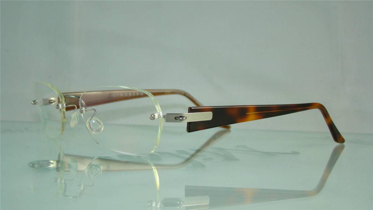 Lindberg Rimless Glasses : Lindberg Spirit Titanium 2048 K50 Tortoise Rimless Glasses ...