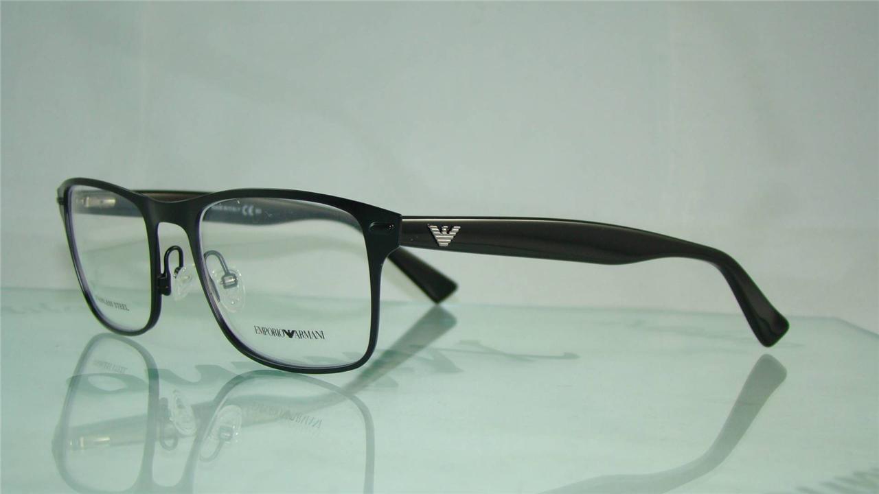 Giorgio Armani Glasses Black Frame : Emporio Armani ea 9867 PDC Black Spectacles Glasses ...