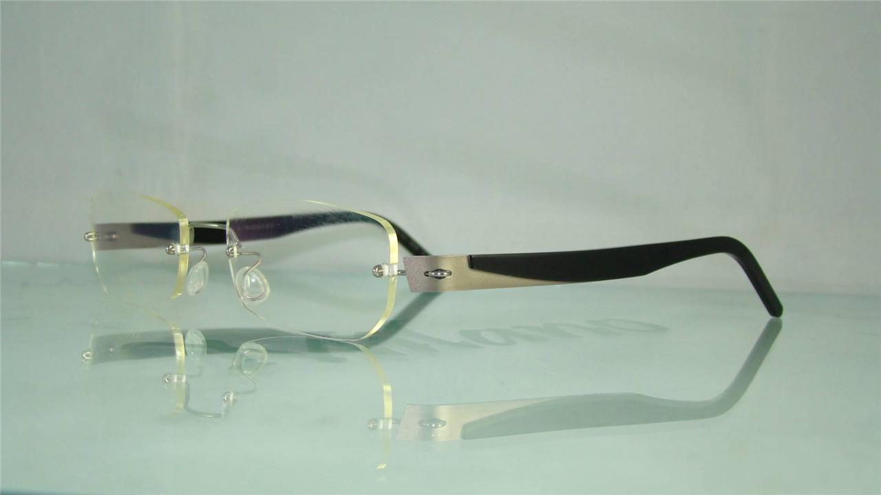 rimless titanium eyeglasses frames louisiana brigade